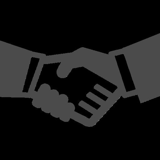 握手の無料アイコン素材 3